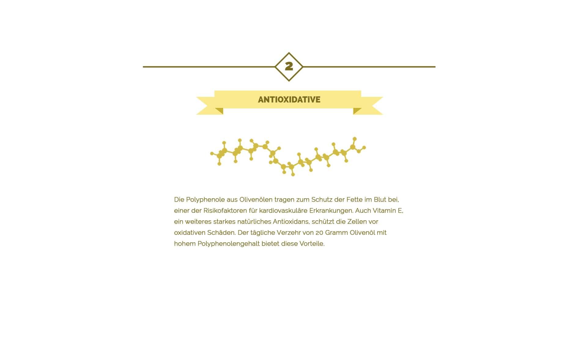 Antioxidantien des Olivenöls