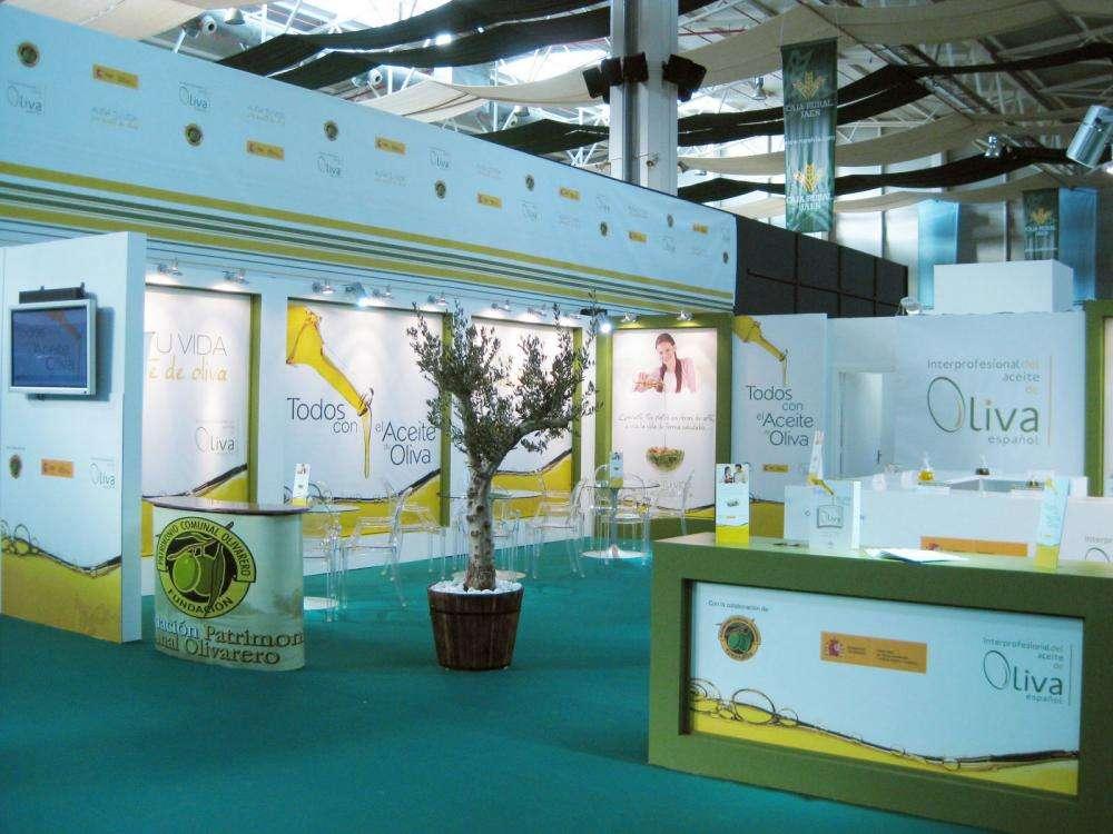 Expoliva, Stand Olivenöle