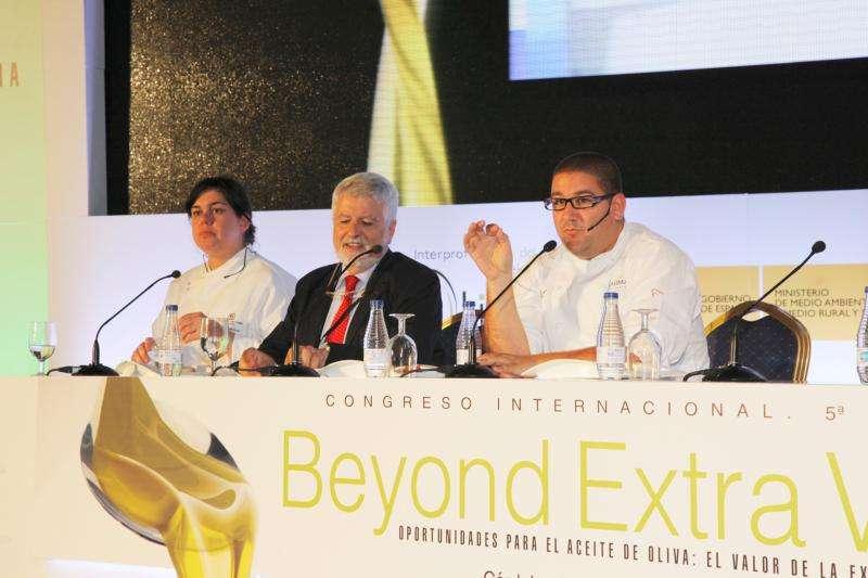 Präsentation von beyond extra Olivenölen