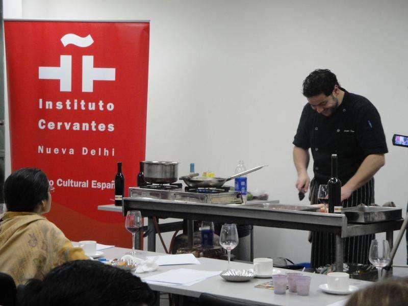 Institut Cervantes, Präsentation von Olivenölen