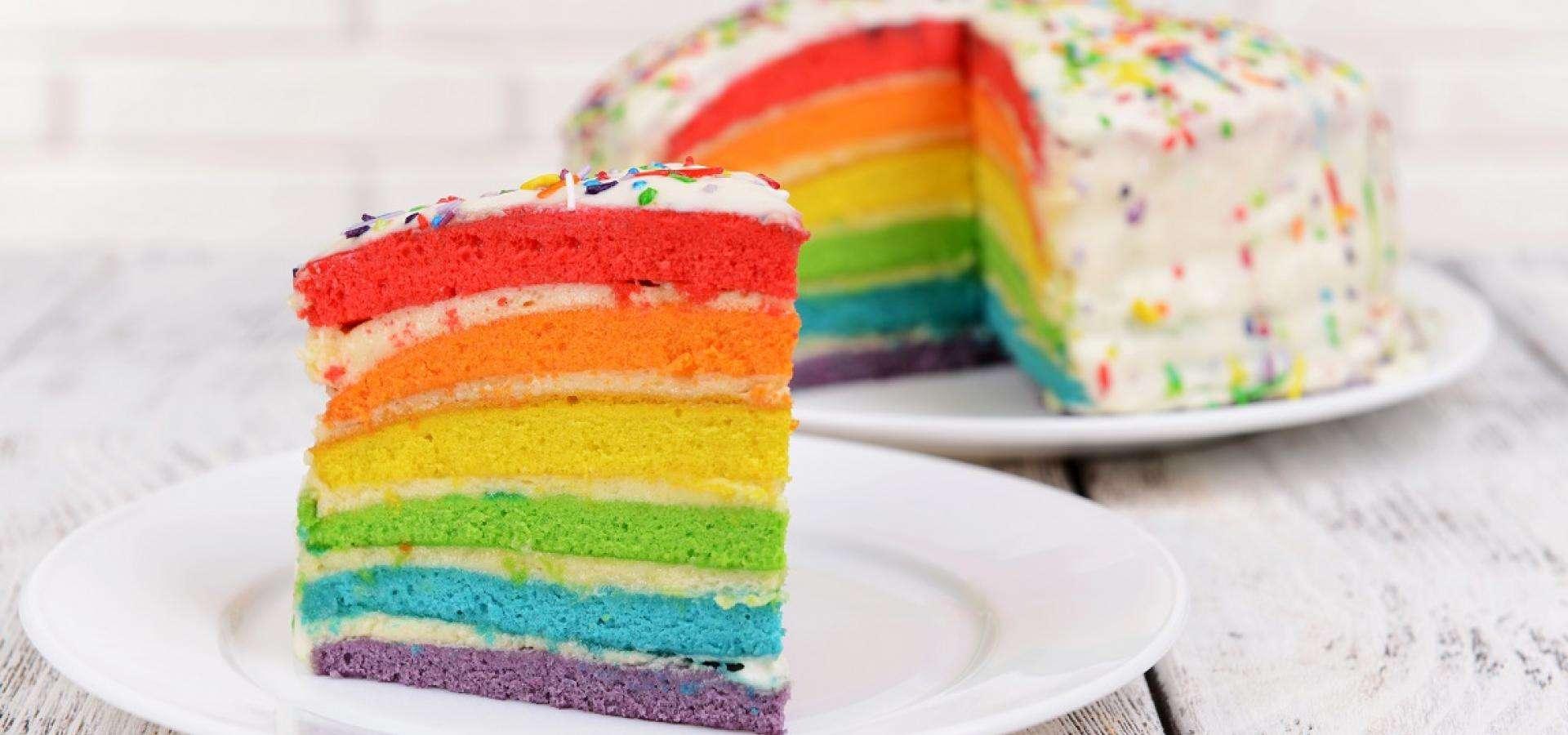 Rainbow Cake rezept