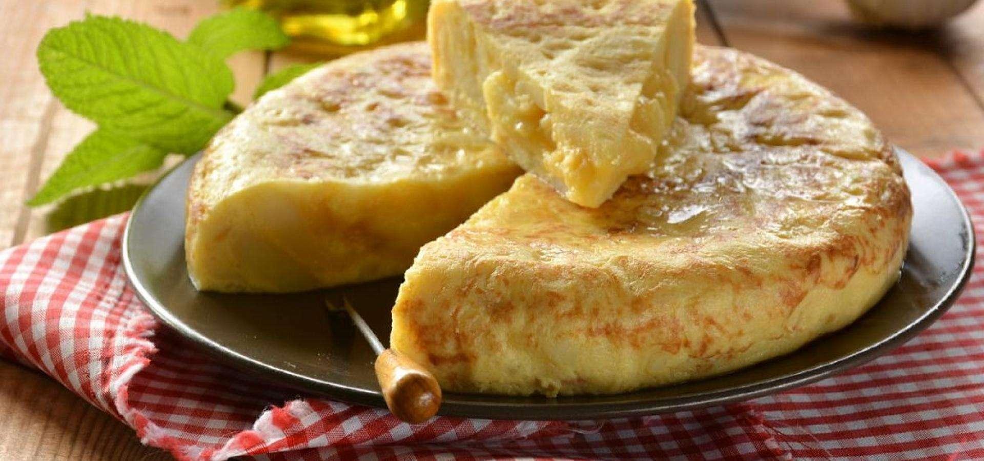 Rezept für Kartoffelomelette aus Spanien