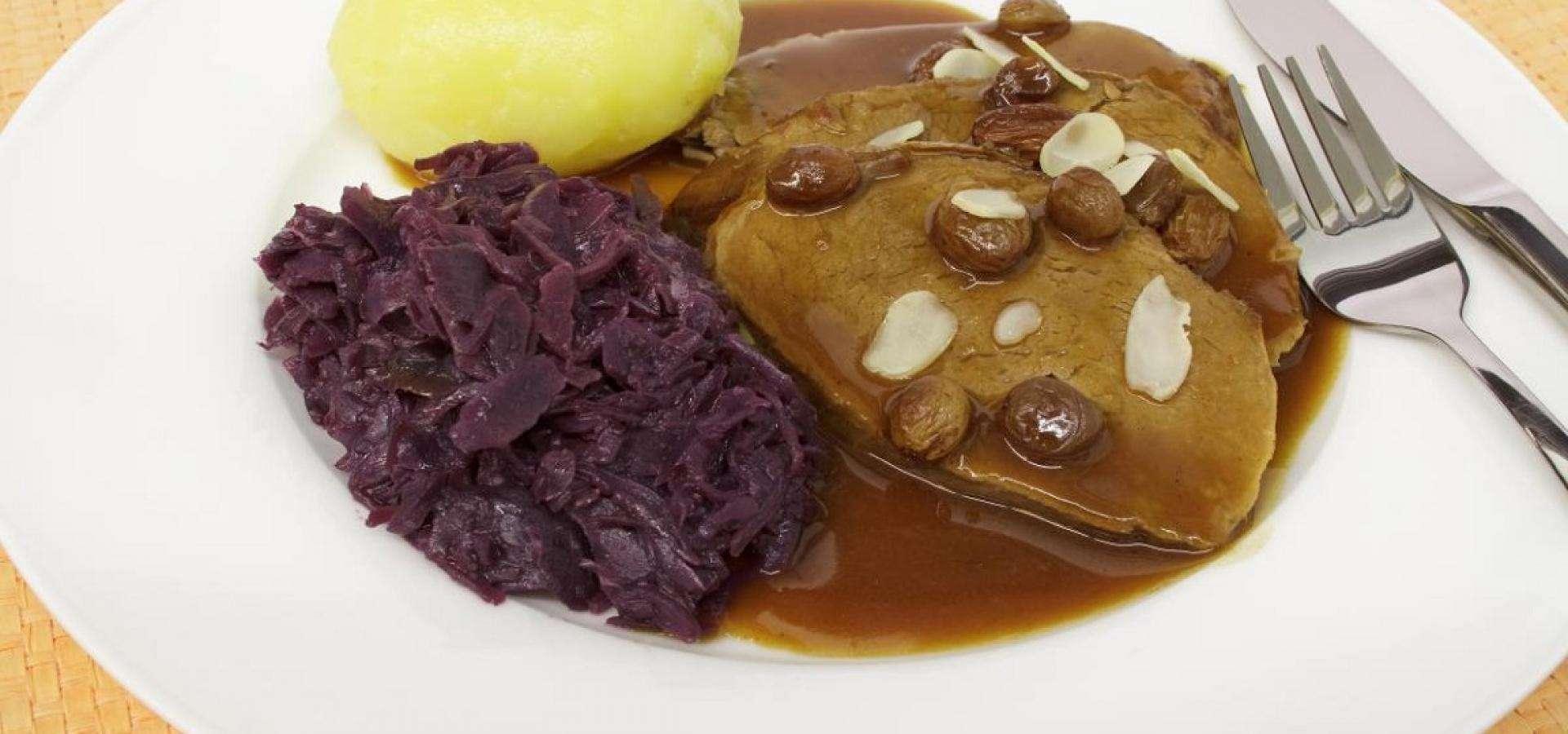 Rezept für rheinischen Sauerbraten