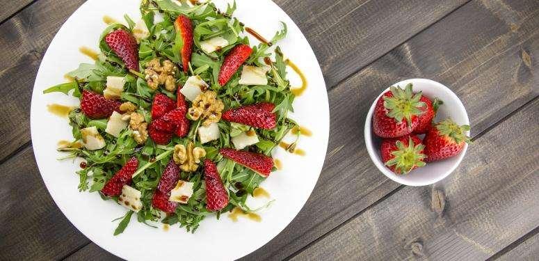 Rezept für Erdbeersalat