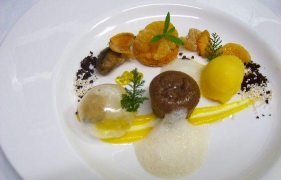 Maronenküchlein mit Olivenöl aus Spanien