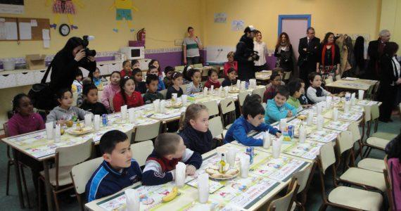 """""""Gesundes Frühstück"""" in den Schulen (der autonomen Region Madrid)"""
