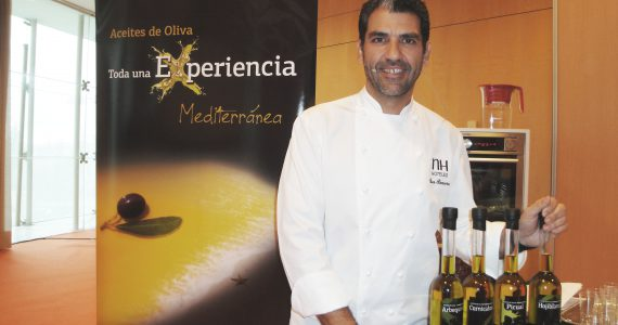 Olivenöl aus Spanien in dem Kongress Madrid Fusión 2014