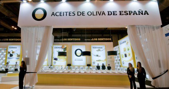 Neues Image der Marke Olivenöl aus Spanien.