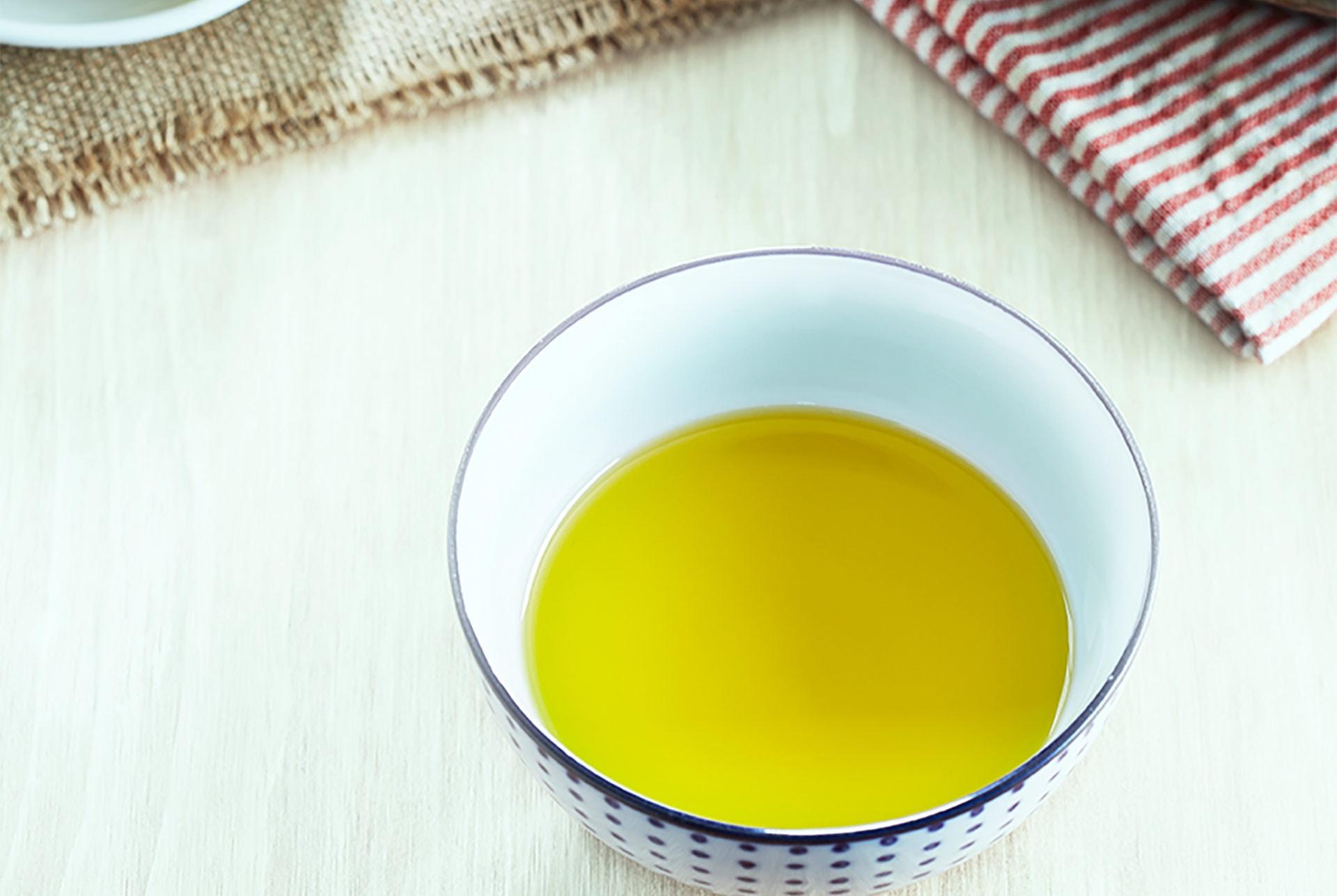 Verkostung von extra nativem Olivenöl