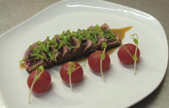 Tataki vom Blue Fin Tuna
