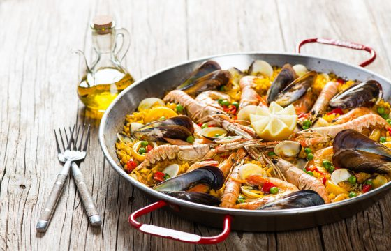 Traditionelle Paella