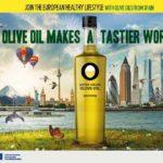 Werbekampagne Olive Oil Makes a tastier World in Europa