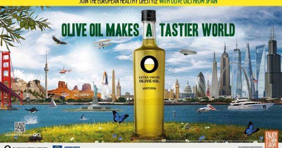 Werbekampagne Olive Oil Makes a tastier World in den Vereinigten Staaten